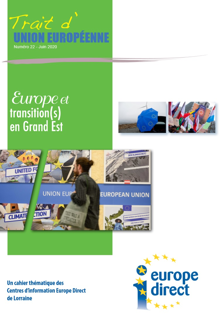 Trait dUnion Europeenne 22 Europe et transitions en Grand Est juin 2020